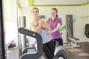 Genius Physiotraining im Trainingsraum